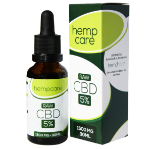 CBD Hemp oil 5% | HempCare RAW