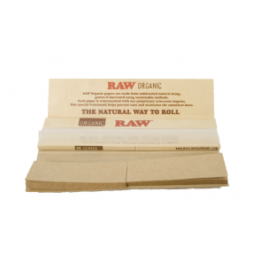 RAW Organic King Size Connoisseur Rolling Papers & Tips