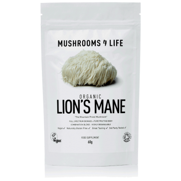 Lion's Mane Hericium erinaceus Powder | Mushrooms4life