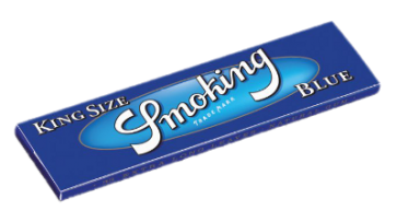 Smoking Blauwe Vloei | King Size
