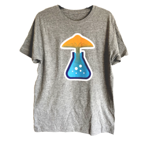 Men's T-Shirt Magic Mushrooms Shop Logo