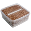 1x Extra large Grow box containing the substrate with active mycelium