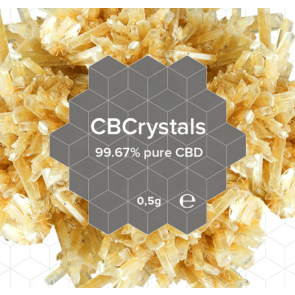 CBD Crystal Natural : Vital Complex 0,5 Grams