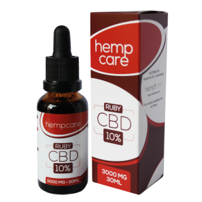CBD Hemp oil 10% | HempCare RUBY