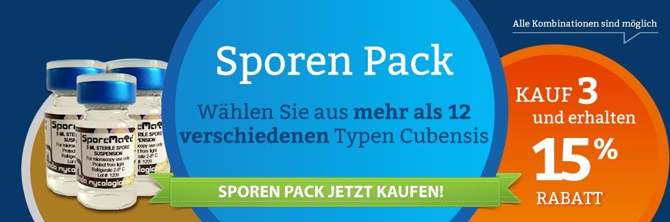 Kombi Zauberpilze Sporen Pack kaufen
