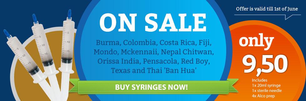 Cubensis Syringes on sale