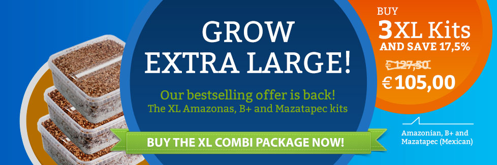 XL Magic Mushrooms Grow Kit Package