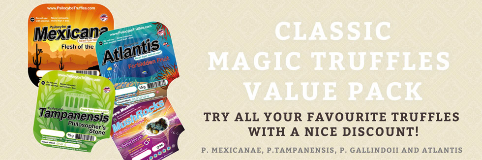 Classic Magic Truffles Pack