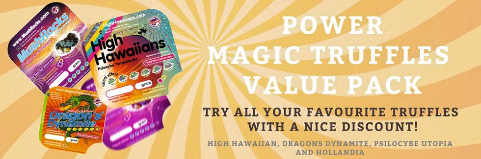 Power Magic Truffles Pack