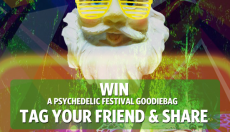 WIN a Psychedelic Festival goodiebag our biweekly Facebook contest