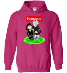 rick morty hoodie magic mushroom