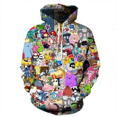 cartoon hoodie
