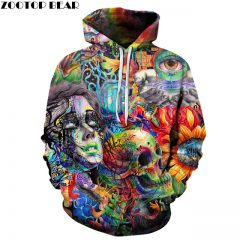 psychedelic fashion hoodie