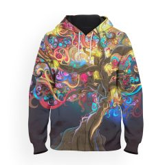 psychedelic awesome hoodie