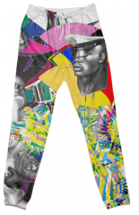 psychedelic fashion pants