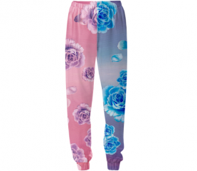 roses fashion pants