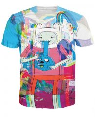 Adventure Time t-shirts Magic Mushroom Shop