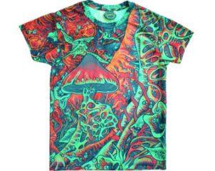 magic mushroom t shirt psychedelic