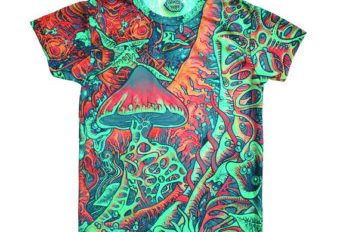 Top 10 Psychedelic Fashion: T-shirts