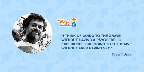 The Magic Mushrooms Shop Psychedelic Profile: Terence McKenna