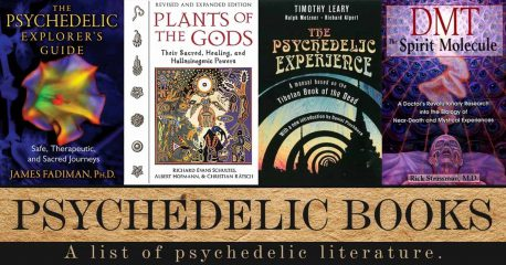 The Magic Mushrooms Shop top 10 Psychedelic Books